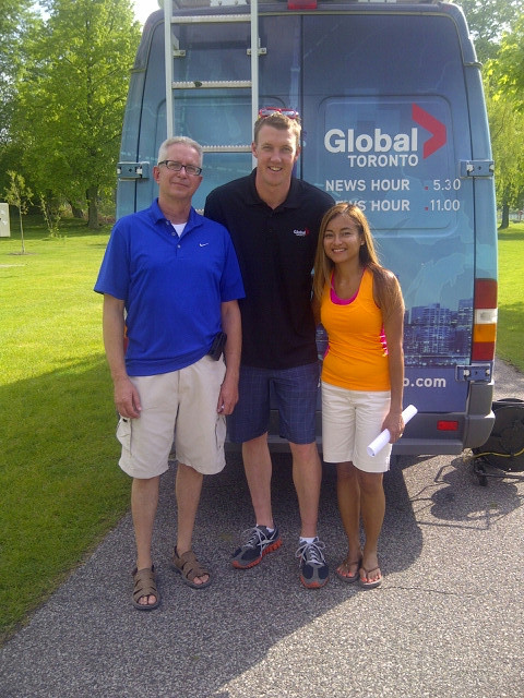 Dan and Marcia on Global with Anthony Farnell