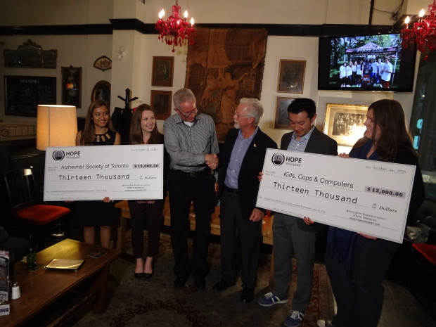 $26,000 Donation to Local Charities