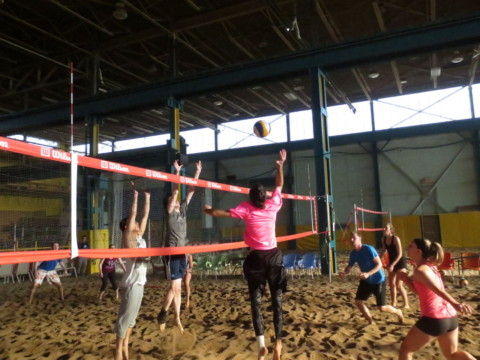 A Great Day at our 10th Annual Indoor Beach Volleyball Tournament!